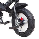 Трехколесный велосипед Mini Trike  T400 Черный Black JEANS, фото 2