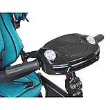 Трехколесный велосипед Mini Trike  T400 Черный Black JEANS, фото 4
