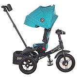Трехколесный велосипед Mini Trike  T400 Beige Jeans бежевый, фото 6