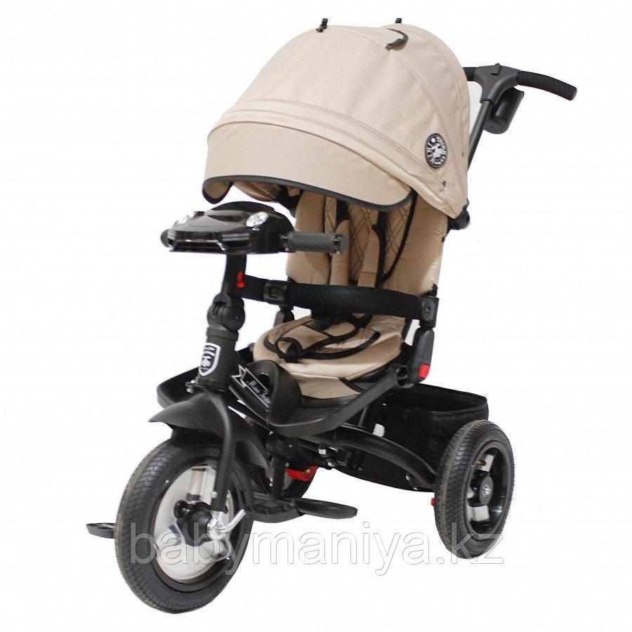 Трехколесный велосипед Mini Trike  T400 Beige Jeans бежевый