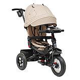 Трехколесный велосипед Mini Trike  T400 Beige Jeans бежевый, фото 2