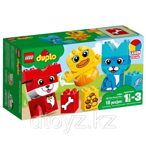 Lego Duplo 10858 Мои первые домашние животные Лего Дупло