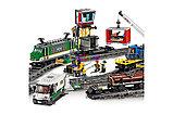 Конструктор Lego City Trains Товарный поезд Lepin 02118 KING 82088 аналог Лего 60198, фото 5