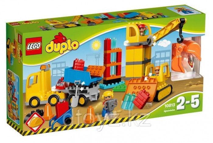 Lego Duplo 10813 Большая стройплощадка Лего Дупло