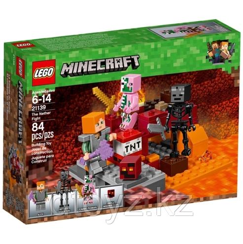 Lego Minecraft 21139 Minecraft Бой в Нижнем мире Лего Майнкрафт