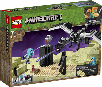 Lego Minecraft 21151 Последняя битва, Лего Майнкрафт