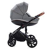 Детская коляска Tutis Mimi Style 2 в 1 Серый лён + Серый, фото 2