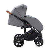 Детская коляска Tutis Mimi Style 2 в 1 Серый лён + Серый, фото 5