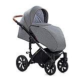 Детская коляска Tutis Mimi Style 2 в 1 Серый лён + Серый, фото 8