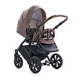 Детская коляска Tutis Mimi Style 2 в 1 Кофейный лён + Бронза, фото 3