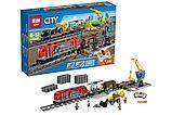 Конструктор Lego 60098 Lepin 02009 LELE 28033 Грузовой поезд Аналог лего 1078 деталей, фото 2