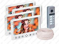 Видеодомофон на несколько квартир HDcom комплект, фото 1