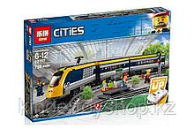 Конструктор Lego 60197, Lepin 02117 KING 82087 Пассажирский поезд Аналог Лего 60197