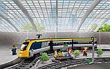 Конструктор Lego 60197, Lepin 02117 KING 82087 Пассажирский поезд Аналог Лего 60197, фото 5