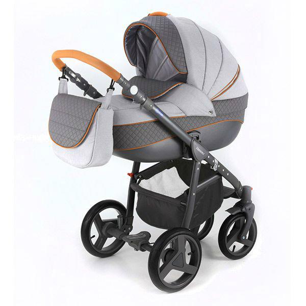 Детская коляска Adamex 3 в 1 NEONEXALFA X4