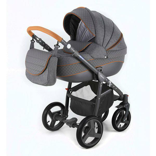 Детская коляска Adamex 3 в 1 NEONEXALFA X5