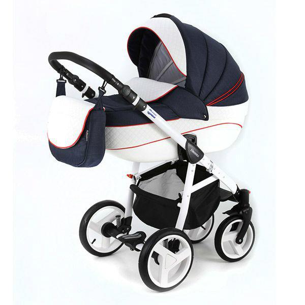Детская коляска Adamex 3 в 1 NEONEXALFA X8