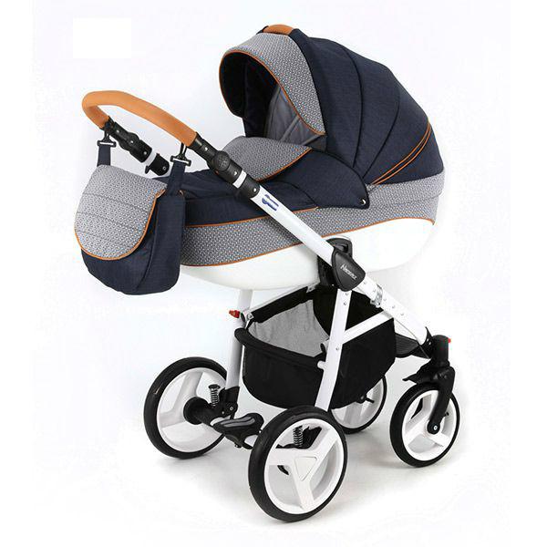 Детская коляска Adamex 3 в 1 NEONEXALFA X9