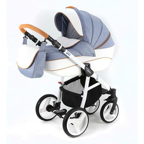 Детская коляска Adamex 3 в 1 NEONEXALFA X10