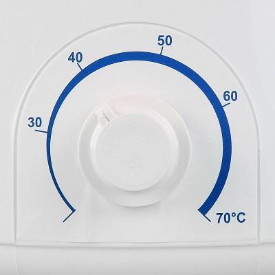 Модель оснащена удобным поворотным регулятором температуры (нажмите на фото для увеличения)