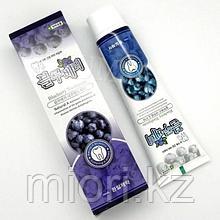 Зубная паста с экстрактом черники  HANIL blueberry toothpaste