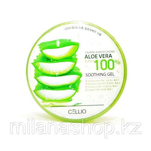 Cellio aloe vera 100% soothing gel -  Многофункциональный гель