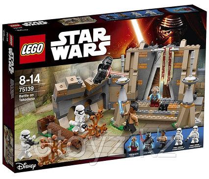 Lego Star Wars 75139 Битва на планете Такодана Лего Звездные войны