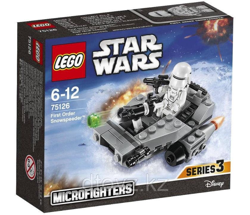Lego Star Wars 75126 Снежный спидер Первого Ордена Лего Звездные войны