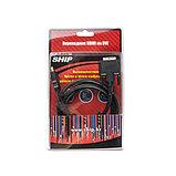 SHIP SH6048-1.5B Переходник HDMI на DVI 18+1 Пол. пакет, фото 3