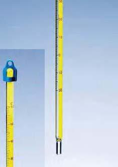 Термометр технический (-10..+200) прямой ртутный, ц.д.1, длина 305 мм, полностью погружаемый (MBL). Снят с пр-ва