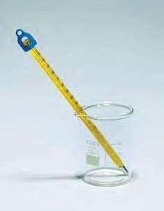 """Термометр технический """"Bee-ka""""(-10..+50) прямой ртутный, ц.д.1, длина 155 мм, полностью погружаемый (MBL). Снят с пр-ва"""