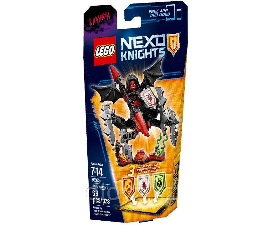Lego Nexo Knights 70335 Лавария – Абсолютная сила, Лего Рыцари Нексо