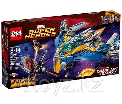 Lego Marvel Super Heroes 76021  Супер Герои Спасение космического корабля Милано™ Лего Супер Герои Marvel