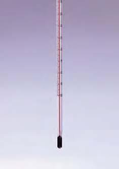 Термометр низкотемпературный (-100..+50) прямой, (орг.нап), ц.д.1, длина 305 мм, полностью погружаемый (MBL)