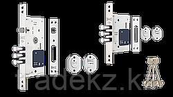 Замок врезной сувальный Kale Kilit 252 RL для металлических дверей, 5 ключей