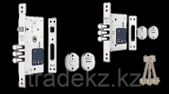 Замок врезной сувальный Kale Kilit 252 RL для металлических дверей, 5 ключей, фото 2