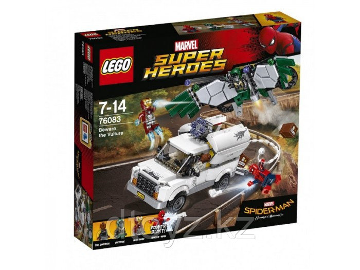Lego Marvel Comics Super Heroes 76083 Берегись Стервятника™ Лего Супер Герои DC