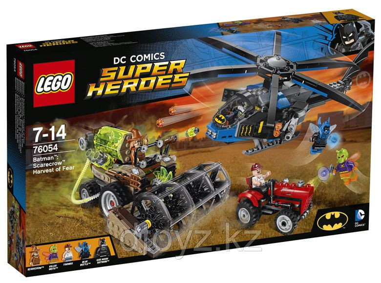 Lego DC Comics Super Heroes 76054 Бэтмен: жатва страха™ Лего Супер Герои DC