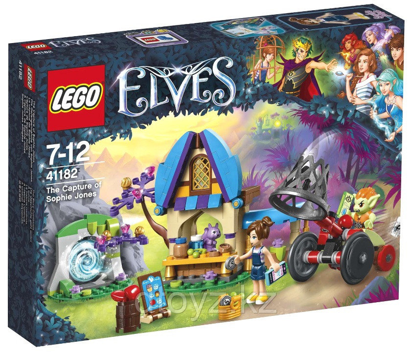 Lego Elves 41182 Похищение Софи Джонс Лего Эльфы