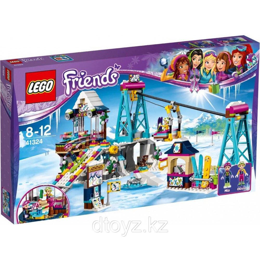 Lego Friends 41324 Горнолыжный курорт: подъёмник Лего Подружки