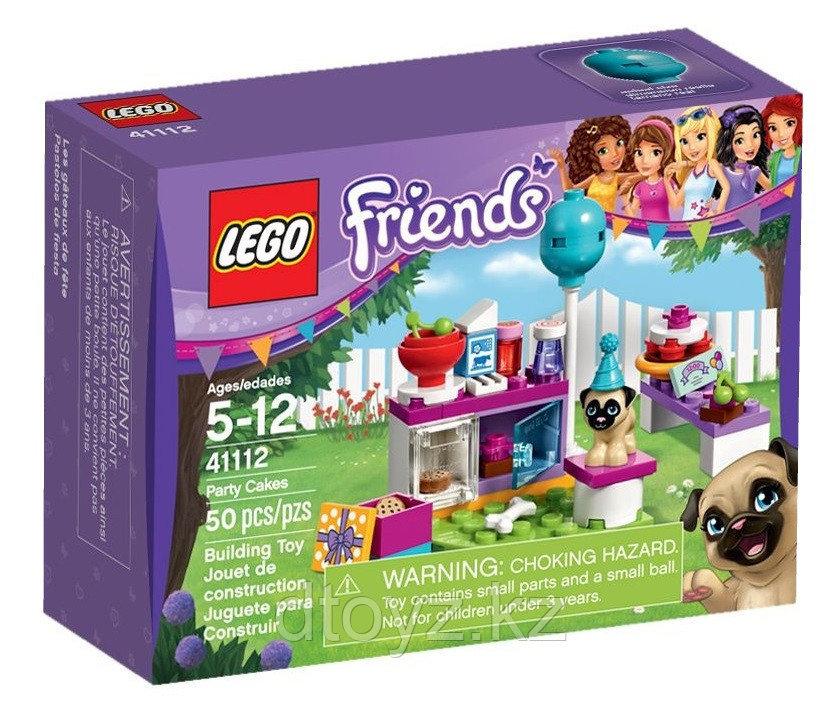 Lego Friends 41112 День рождения: Тортики Лего Подружки
