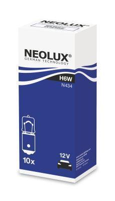 Neolux Лампа H6W 6W 12V BAX9s STANDART