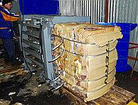 """Горизонтальный пресс """"СТАТИКО-40"""" для макулатуры, пэт-бутылок, пластика, плёнки, текстиля, мусора. Кипа 800 кг"""