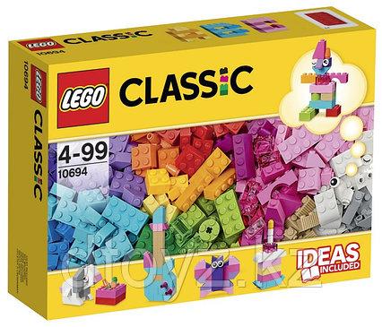 Lego Classic 10694 Дополнение к набору для творчества - пастельные цвета Лего Классик