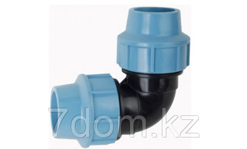 Отвод компрессионный d25, фото 2