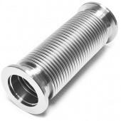 Сильфон вакуумный гибкий с фланцем KF25 (NW25) длиной 500 мм, нержавеющая сталь, электрополированный