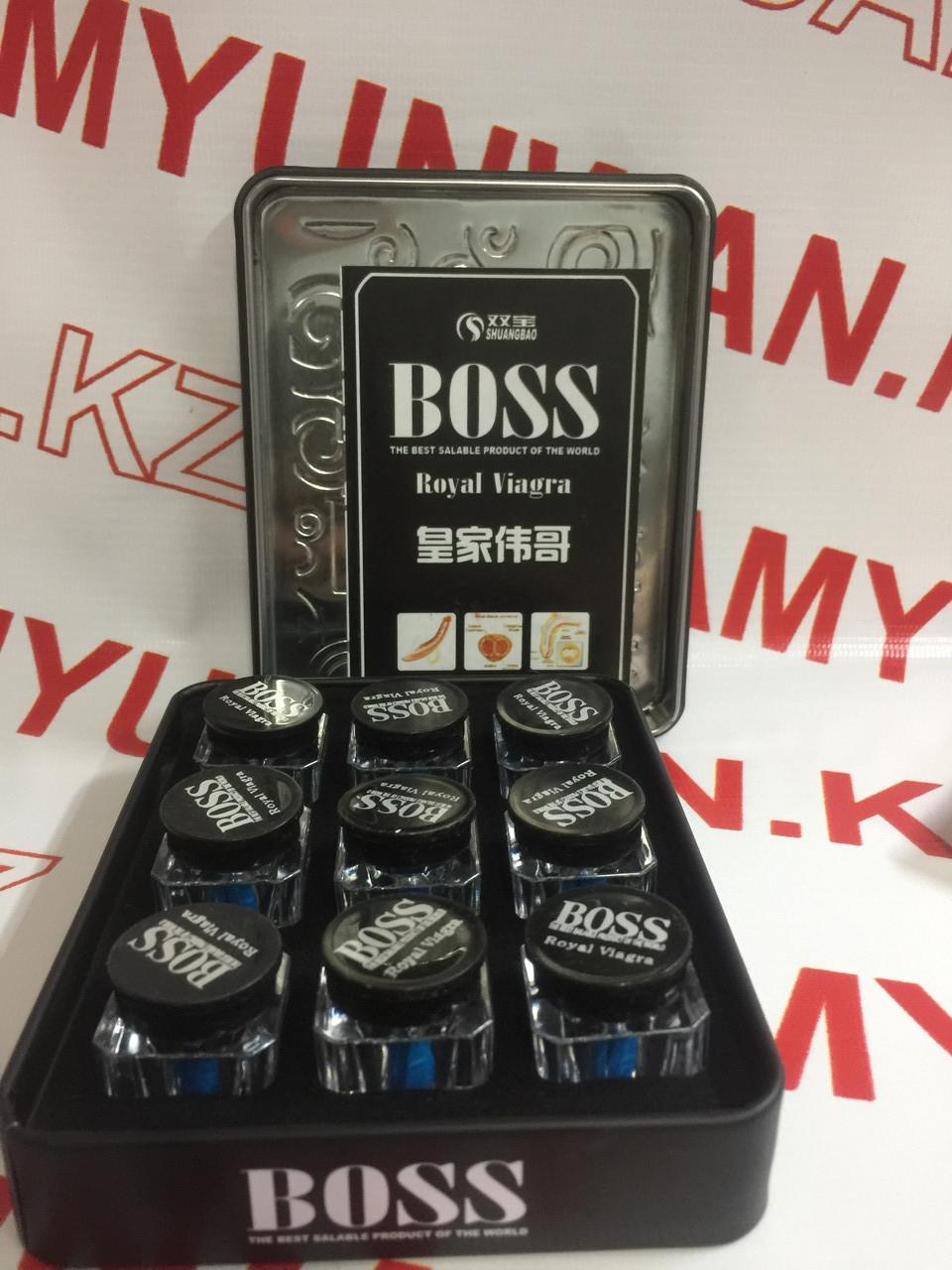 Boss Royal Viagra Королевская ( для повышения потенции) 27 таб