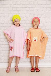 Детское полотенце пончо