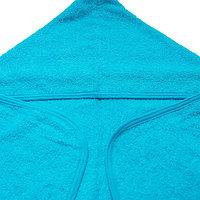 Полотенце уголок синее