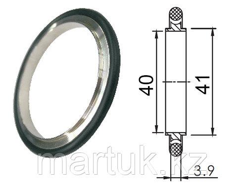 Кольцо центрирующее KF40 (NW40) с витоновым уплотнением, алюминий